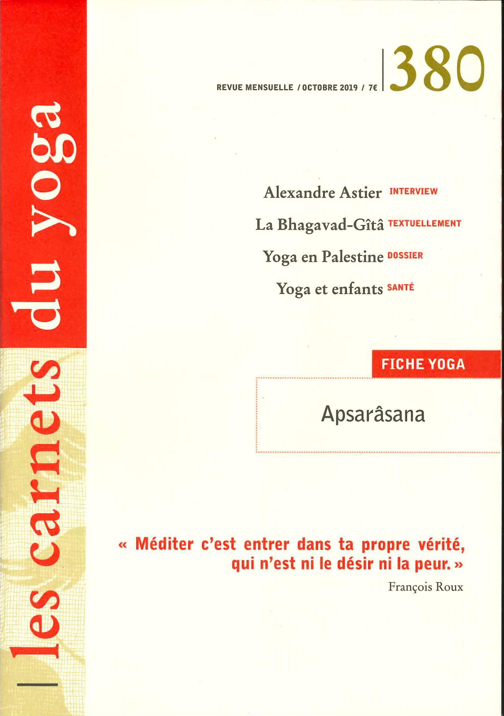 Carnets du Yoga FNEY