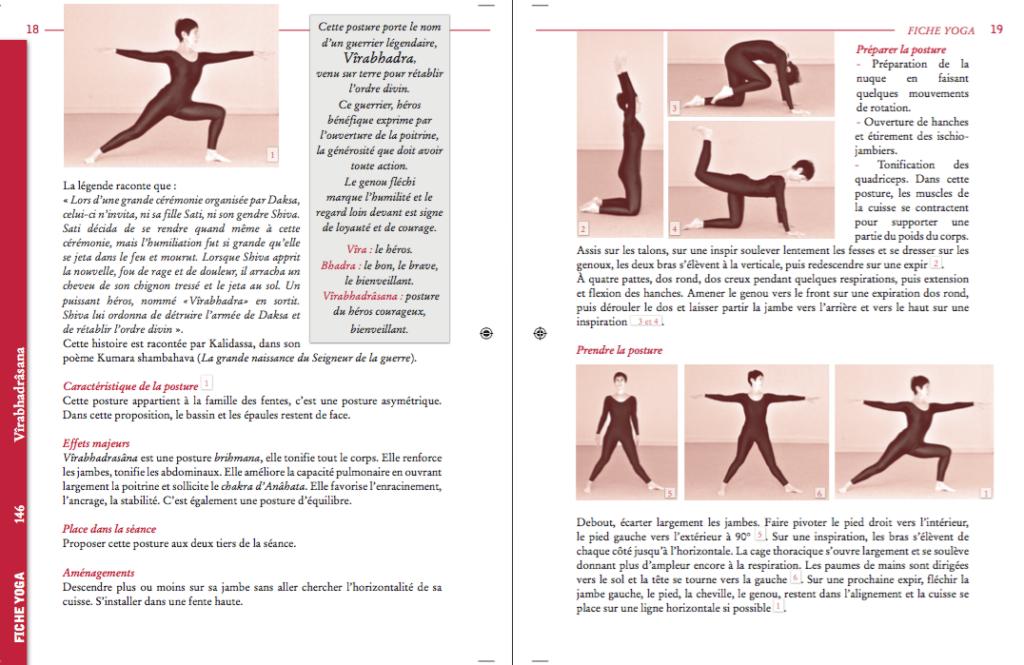 Fiche Posture du Carnet du yoga de juin 2019